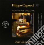 Sonate per organo cd musicale di Filippo Capocci