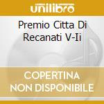 PREMIO CITTA'DI RECANATI cd musicale