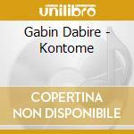 KONTOME' cd musicale di DABIRE'GABIN