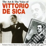 THE ART AND THE VOICE OF cd musicale di DE SICA VITTORIO