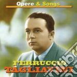 Opere & songs cd musicale di Ferruccio Tagliavini