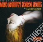 Dario Argento - Dario Argento'S Horror Movies cd musicale di SIMONETTI CLAUDIO