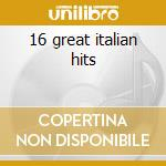 16 great italian hits cd musicale di Saint paul lara