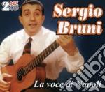 LA VOCE DI NAPOLI (2CD) cd musicale di BRUNI SERGIO