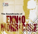 The soundtracks (2cd) cd musicale di MORRICONE ENNIO