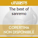 The best of sanremo cd musicale di Artisti Vari