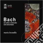 BACH - SEI SUITES A VIOLONCELLO SOLO SEN  cd musicale di Johann Sebastian Bach