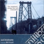 Jack Dejohnette / Bill Frisell - The Elephant Sleeps But Still Remembers cd musicale di Jack Dejohnette