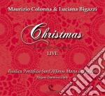 Maurizio Colonna / Luciana Bigazzi - Christmas - Live cd musicale di Bigazzi l Colonna m