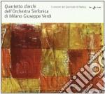 QUARTETTO D'ARCHI DELL'ORCHESTRA SINFONI cd musicale di Miscellanee