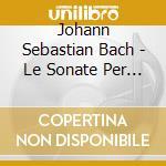 Sonate x flauto e clavicembalo cd musicale di Bach johann sebastian