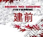 Tatemae cd musicale di Mono no aware