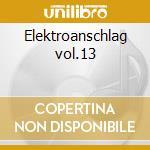 Elektroanschlag vol.13 cd musicale di Artisti Vari