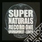 Ufomammut & Lento - Supernaturals Record One cd musicale di Ufomammut & lento