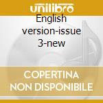English version-issue 3-new cd musicale