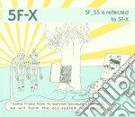 5f-x - 5f_55 Is Reflected To 5f-x cd musicale di 5F-X