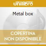 Metal box cd musicale