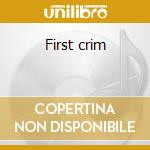 First crim cd musicale
