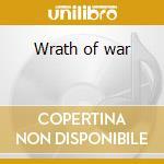 Wrath of war cd musicale
