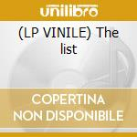 (LP VINILE) The list lp vinile