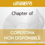 Chapter of cd musicale
