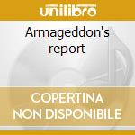 Armageddon's report cd musicale