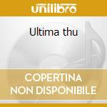 Ultima thu cd musicale