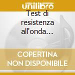 Test di resistenza all'onda d'urto cd musicale