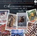 Alessandro Cicognini Per Vittorio De Sica cd musicale di O.S.T.