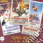 Nino Rota - Fortunella / La Grande Guerra / Il Maestro Di Vigevano cd musicale di Eduardo De Filippo, Elio Petri, Mario Monicelli