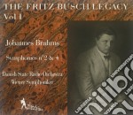 BUSCH FRITZ VOL.1 cd musicale