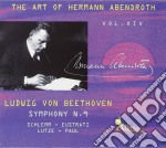 ABENDROTH HERMANN VOL.14 cd musicale