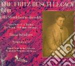 BUSCH FRITZ VOL.3 cd musicale