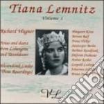 LEMNITZ TIANA VOL.1 cd musicale