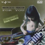 Maurizio Vercon / Frank Gambale - For You cd musicale di VERCON MAURIZIO-FEATURING FRANK