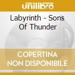 SONG OF THUNDER cd musicale di Labyrinyh