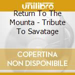 Tribute to savatage cd musicale