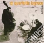 Quartetto Logreco - Reflections cd musicale di QUARTETTO LOGRECO