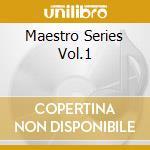 MAESTRO SERIES VOL.1 cd musicale di PICCIONI PIERO