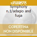 Symphony n.1/adagio and fuga cd musicale di Vanghelis Petsalis