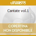 Cantate vol.1 cd musicale di Antonio Vivaldi