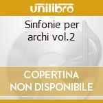 Sinfonie per archi vol.2 cd musicale di Durante