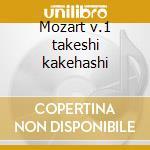 Mozart v.1 takeshi kakehashi cd musicale di W.amadeus Mozart