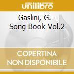 Song book v.2 cd musicale di Giorgio Gaslini