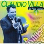 Claudio Villa - Le Prime Canzoni #01 cd musicale di VILLA CLAUDIO