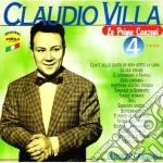 LE PRIME CANZONI VOL.4 cd musicale di VILLA CLAUDIO