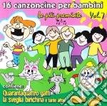 16 Canzoncine Per Bambini Vol.7 Le Più Premiate cd musicale di AA.VV.