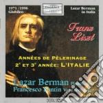 ANEES DE PELERINAGE, 2 E 3 ANEES: L'ITAL cd musicale di Franz Liszt