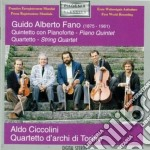 QUINTETTO X PF E ARCHI IN DO MAG, QUARTE cd musicale di FANO