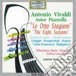 Vivaldi Antonio - Le Quattro Stagioni Op.8 Con Sonetti Recitati cd musicale di Antonio Vivaldi